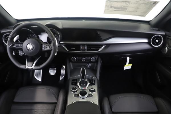 New 2020 Alfa Romeo Stelvio Ti Sport Q4 for sale $55,995 at Alfa Romeo of Greenwich in Greenwich CT 06830 16