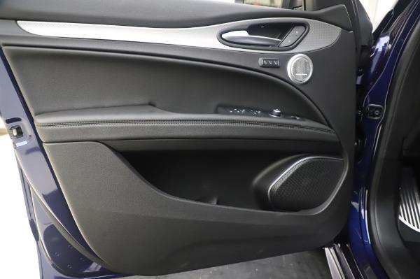 New 2020 Alfa Romeo Stelvio Ti Sport Q4 for sale $55,995 at Alfa Romeo of Greenwich in Greenwich CT 06830 17