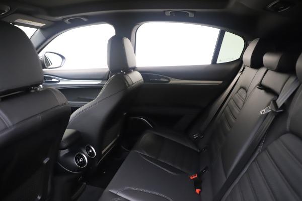 New 2020 Alfa Romeo Stelvio Ti Sport Q4 for sale $55,995 at Alfa Romeo of Greenwich in Greenwich CT 06830 19