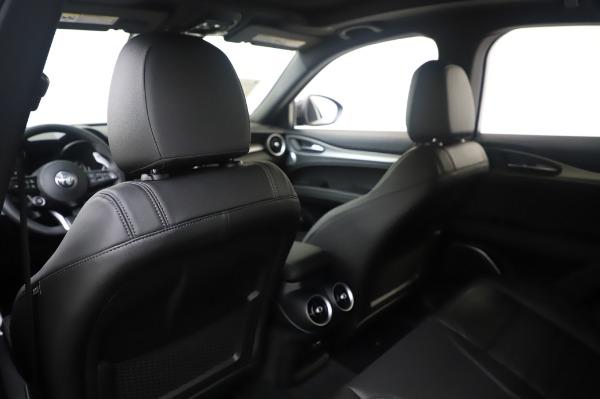 New 2020 Alfa Romeo Stelvio Ti Sport Q4 for sale $55,995 at Alfa Romeo of Greenwich in Greenwich CT 06830 20