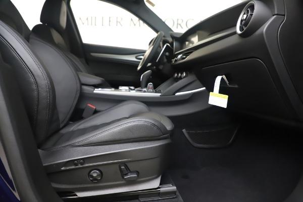New 2020 Alfa Romeo Stelvio Ti Sport Q4 for sale $55,995 at Alfa Romeo of Greenwich in Greenwich CT 06830 23