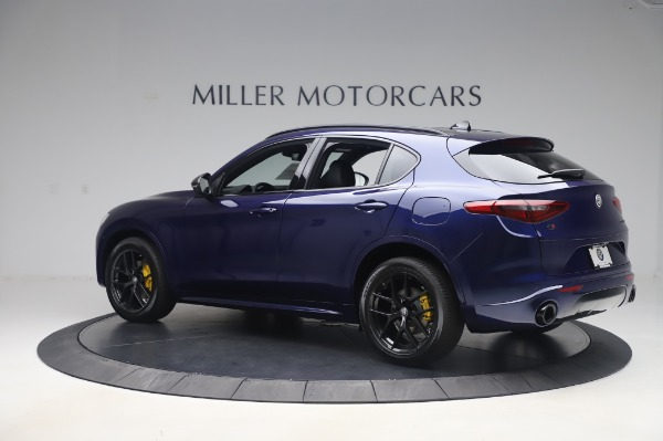 New 2020 Alfa Romeo Stelvio Ti Sport Q4 for sale $55,995 at Alfa Romeo of Greenwich in Greenwich CT 06830 4