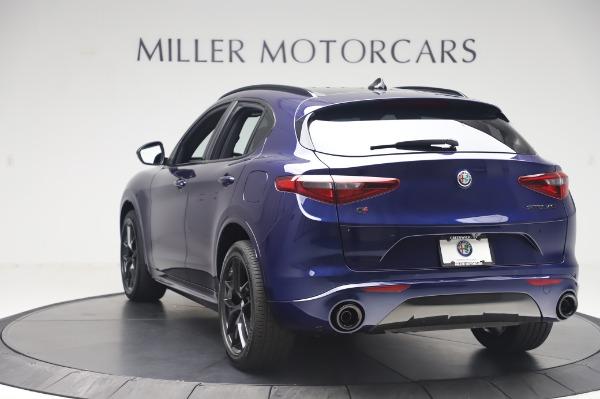New 2020 Alfa Romeo Stelvio Ti Sport Q4 for sale $55,995 at Alfa Romeo of Greenwich in Greenwich CT 06830 5
