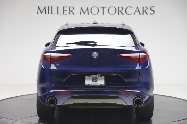 New 2020 Alfa Romeo Stelvio Ti Sport Q4 for sale $55,995 at Alfa Romeo of Greenwich in Greenwich CT 06830 6