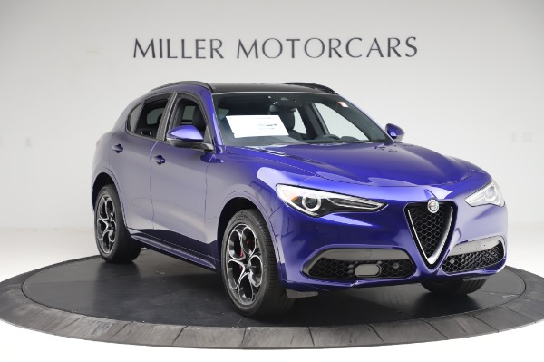 New 2020 Alfa Romeo Stelvio Ti Sport Q4 for sale $57,045 at Alfa Romeo of Greenwich in Greenwich CT 06830 11
