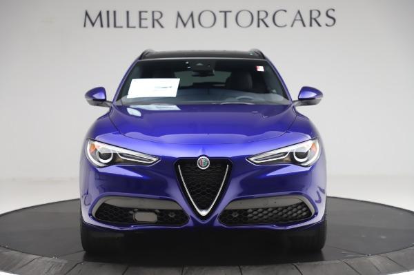 New 2020 Alfa Romeo Stelvio Ti Sport Q4 for sale $57,045 at Alfa Romeo of Greenwich in Greenwich CT 06830 12