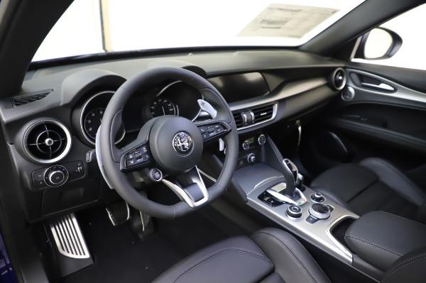 New 2020 Alfa Romeo Stelvio Ti Sport Q4 for sale $57,045 at Alfa Romeo of Greenwich in Greenwich CT 06830 13