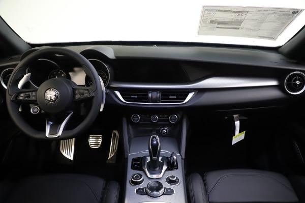 New 2020 Alfa Romeo Stelvio Ti Sport Q4 for sale $57,045 at Alfa Romeo of Greenwich in Greenwich CT 06830 16