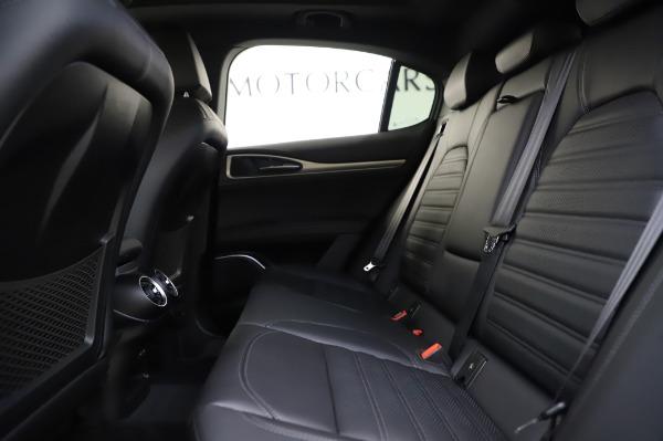 New 2020 Alfa Romeo Stelvio Ti Sport Q4 for sale $57,045 at Alfa Romeo of Greenwich in Greenwich CT 06830 19
