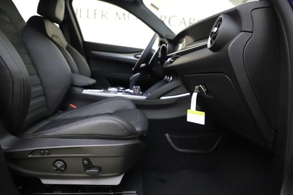 New 2020 Alfa Romeo Stelvio Ti Sport Q4 for sale $57,045 at Alfa Romeo of Greenwich in Greenwich CT 06830 23