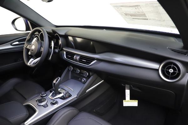 New 2020 Alfa Romeo Stelvio Ti Sport Q4 for sale $57,045 at Alfa Romeo of Greenwich in Greenwich CT 06830 24