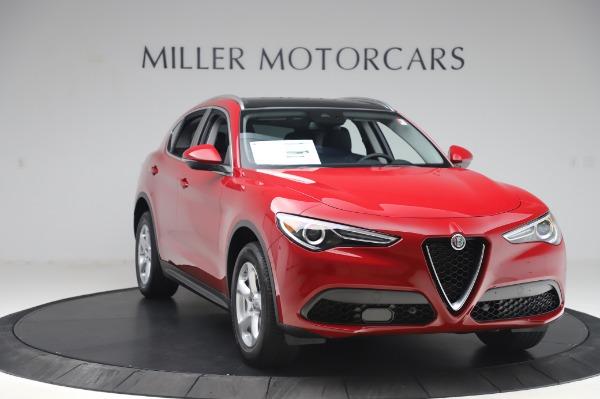 New 2020 Alfa Romeo Stelvio Q4 for sale $47,645 at Alfa Romeo of Greenwich in Greenwich CT 06830 11