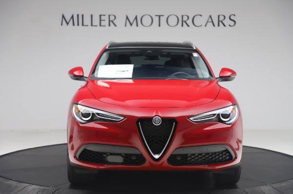 New 2020 Alfa Romeo Stelvio Q4 for sale $47,645 at Alfa Romeo of Greenwich in Greenwich CT 06830 12