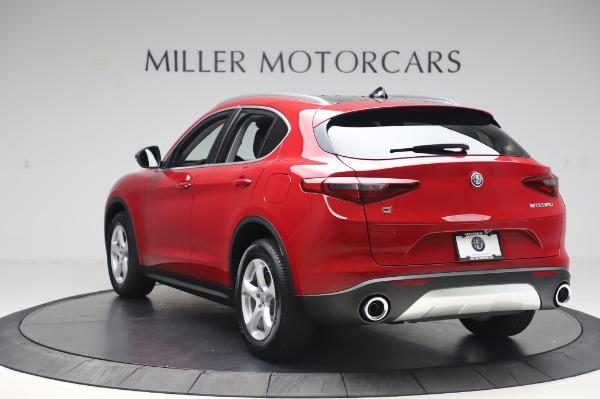 New 2020 Alfa Romeo Stelvio Q4 for sale $47,645 at Alfa Romeo of Greenwich in Greenwich CT 06830 5