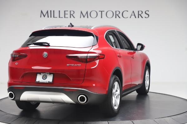 New 2020 Alfa Romeo Stelvio Q4 for sale $47,645 at Alfa Romeo of Greenwich in Greenwich CT 06830 7