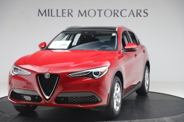 New 2020 Alfa Romeo Stelvio Q4 for sale $47,645 at Alfa Romeo of Greenwich in Greenwich CT 06830 1