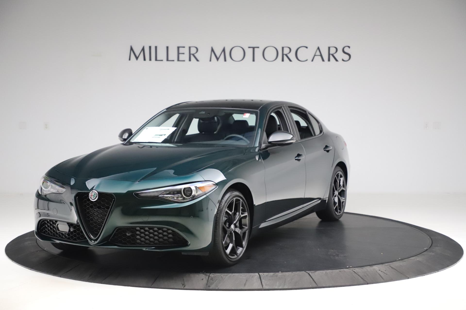 New 2020 Alfa Romeo Giulia Ti Q4 for sale $49,745 at Alfa Romeo of Greenwich in Greenwich CT 06830 1
