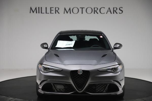 New 2020 Alfa Romeo Giulia Quadrifoglio for sale $87,445 at Alfa Romeo of Greenwich in Greenwich CT 06830 12