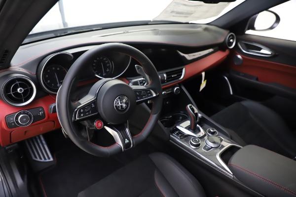 New 2020 Alfa Romeo Giulia Quadrifoglio for sale $87,445 at Alfa Romeo of Greenwich in Greenwich CT 06830 13