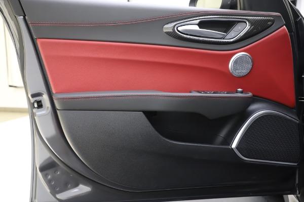 New 2020 Alfa Romeo Giulia Quadrifoglio for sale $87,445 at Alfa Romeo of Greenwich in Greenwich CT 06830 16