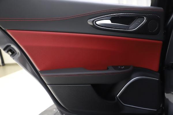 New 2020 Alfa Romeo Giulia Quadrifoglio for sale $87,445 at Alfa Romeo of Greenwich in Greenwich CT 06830 20