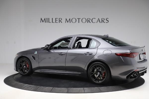 New 2020 Alfa Romeo Giulia Quadrifoglio for sale $87,445 at Alfa Romeo of Greenwich in Greenwich CT 06830 4