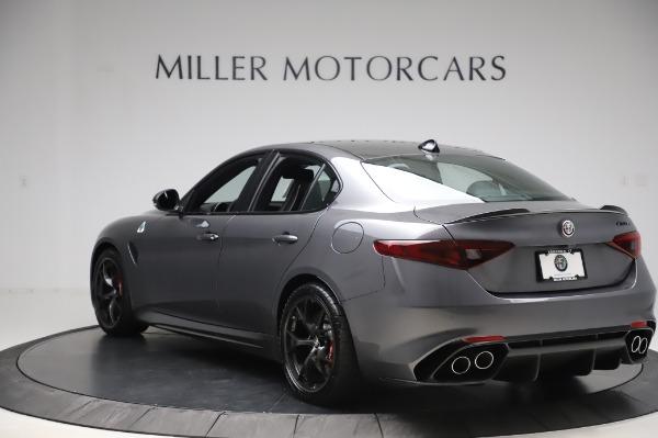 New 2020 Alfa Romeo Giulia Quadrifoglio for sale $87,445 at Alfa Romeo of Greenwich in Greenwich CT 06830 5