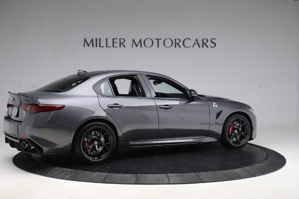 New 2020 Alfa Romeo Giulia Quadrifoglio for sale $87,445 at Alfa Romeo of Greenwich in Greenwich CT 06830 8