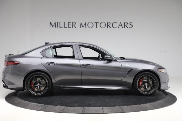 New 2020 Alfa Romeo Giulia Quadrifoglio for sale $87,445 at Alfa Romeo of Greenwich in Greenwich CT 06830 9
