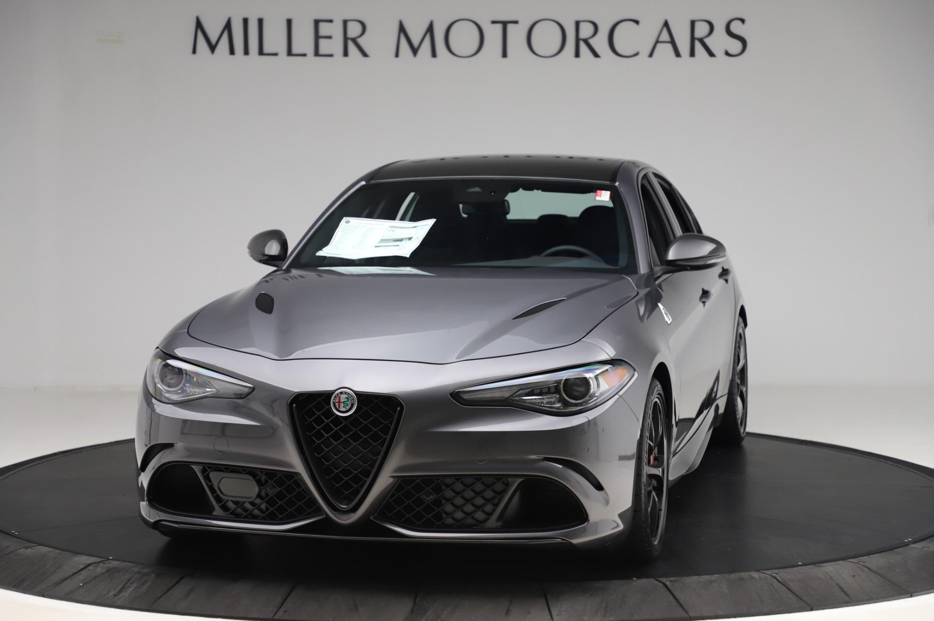 New 2020 Alfa Romeo Giulia Quadrifoglio for sale $87,445 at Alfa Romeo of Greenwich in Greenwich CT 06830 1