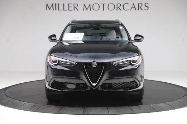 New 2020 Alfa Romeo Stelvio Ti Q4 for sale $50,895 at Alfa Romeo of Greenwich in Greenwich CT 06830 12
