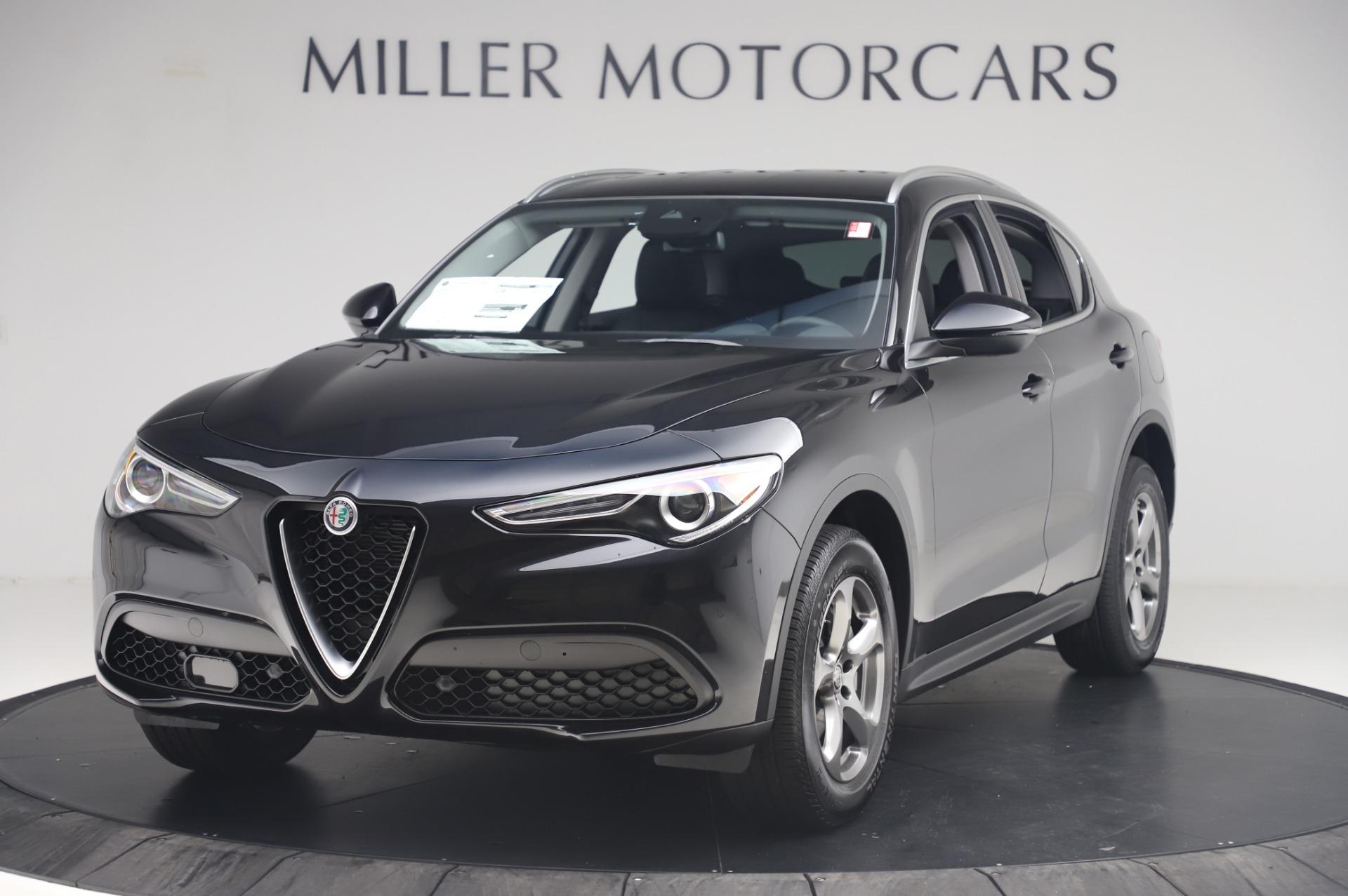 New 2020 Alfa Romeo Stelvio Q4 for sale $47,395 at Alfa Romeo of Greenwich in Greenwich CT 06830 1