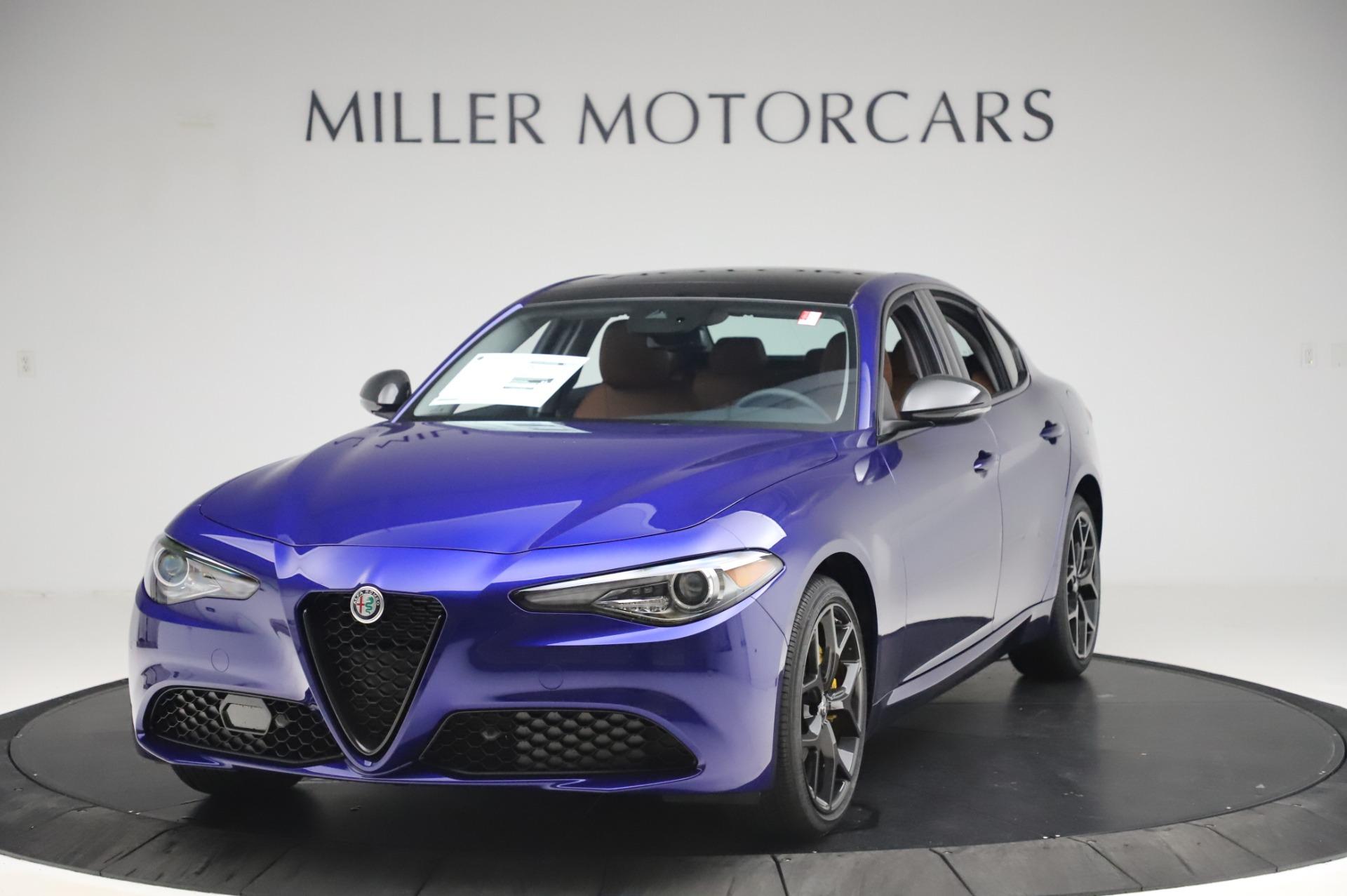 New 2020 Alfa Romeo Giulia Q4 for sale $47,845 at Alfa Romeo of Greenwich in Greenwich CT 06830 1