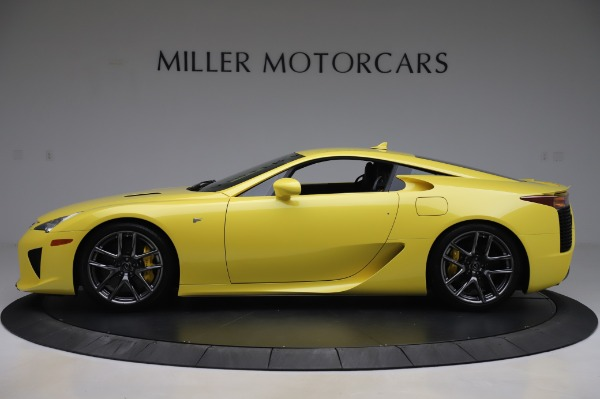 Used 2012 Lexus LFA for sale $509,900 at Alfa Romeo of Greenwich in Greenwich CT 06830 3