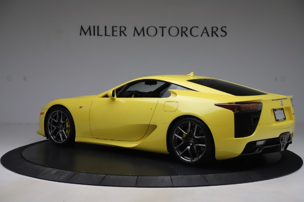 Used 2012 Lexus LFA for sale $509,900 at Alfa Romeo of Greenwich in Greenwich CT 06830 4
