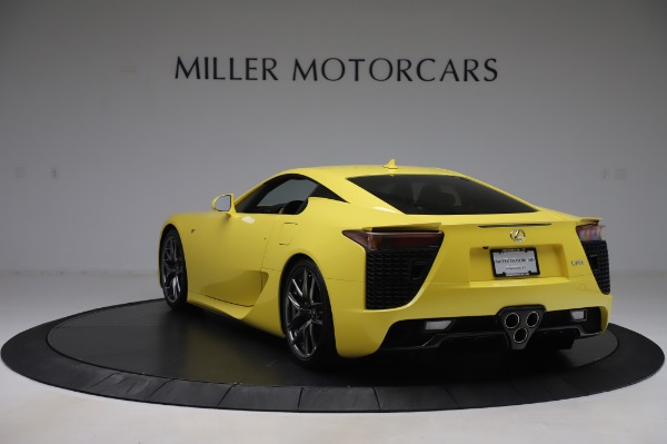 Used 2012 Lexus LFA for sale $509,900 at Alfa Romeo of Greenwich in Greenwich CT 06830 5