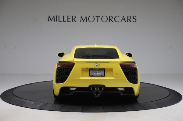 Used 2012 Lexus LFA for sale $509,900 at Alfa Romeo of Greenwich in Greenwich CT 06830 6