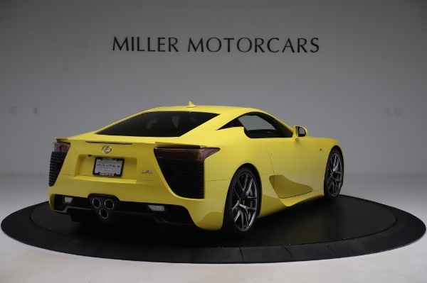 Used 2012 Lexus LFA for sale $509,900 at Alfa Romeo of Greenwich in Greenwich CT 06830 7