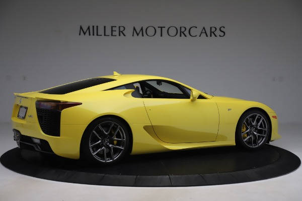 Used 2012 Lexus LFA for sale $509,900 at Alfa Romeo of Greenwich in Greenwich CT 06830 8