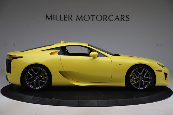 Used 2012 Lexus LFA for sale $509,900 at Alfa Romeo of Greenwich in Greenwich CT 06830 9