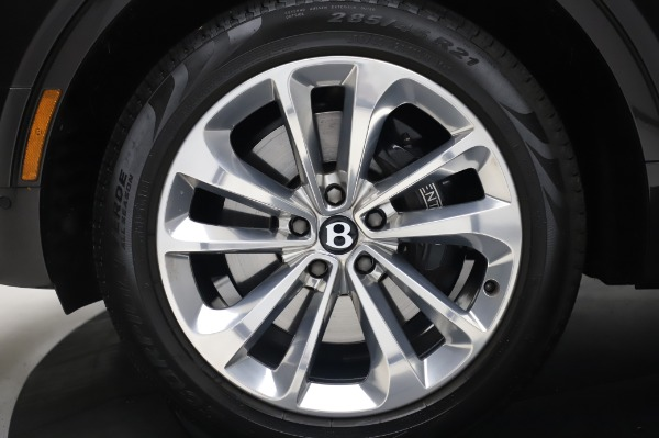 Used 2017 Bentley Bentayga W12 for sale $138,900 at Alfa Romeo of Greenwich in Greenwich CT 06830 15