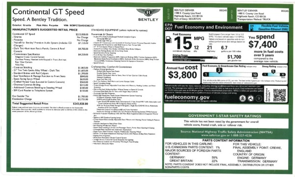 Used 2013 Bentley Continental GT Speed for sale Sold at Alfa Romeo of Greenwich in Greenwich CT 06830 27