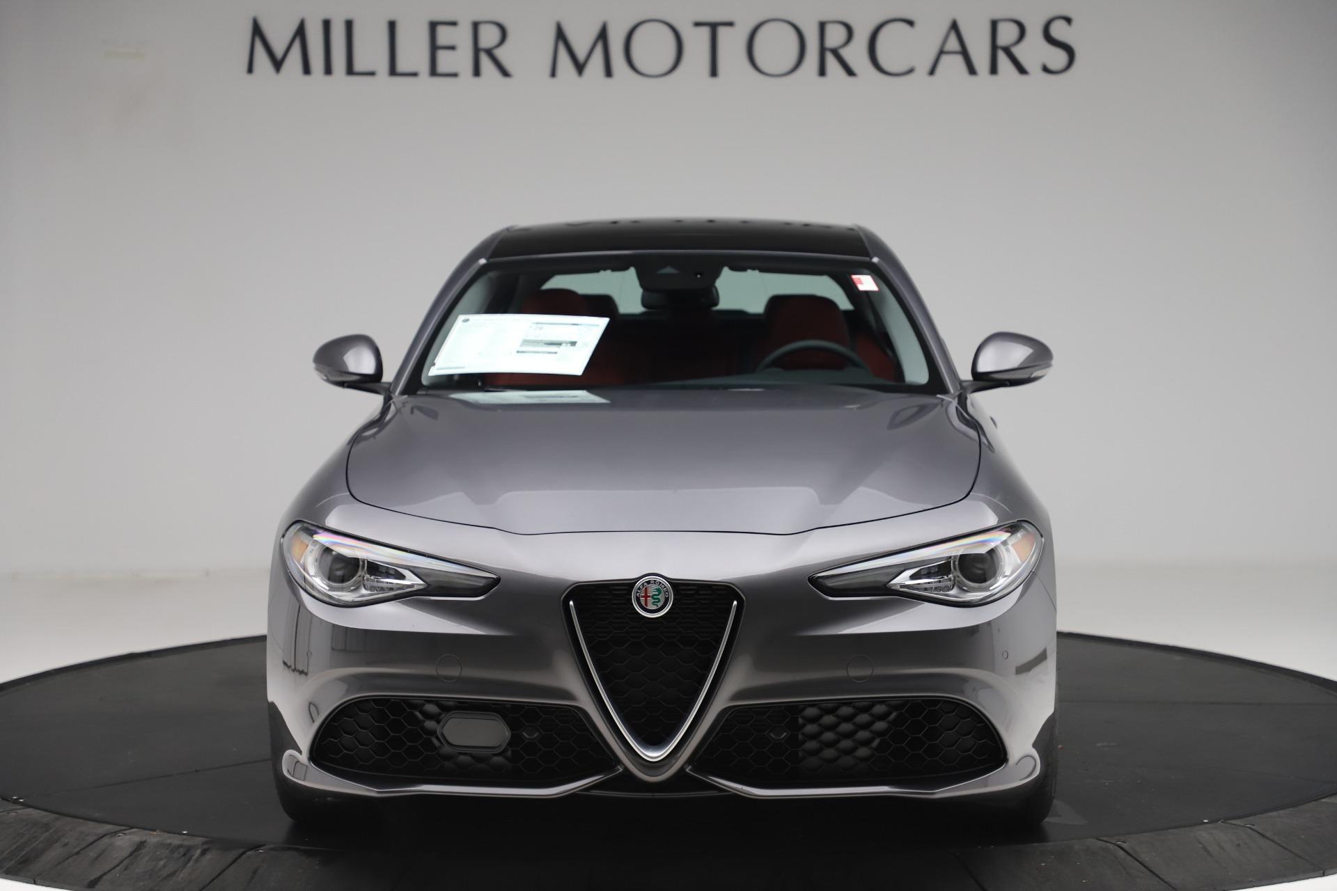 New 2020 Alfa Romeo Giulia Sport Q4 for sale $48,945 at Alfa Romeo of Greenwich in Greenwich CT 06830 1