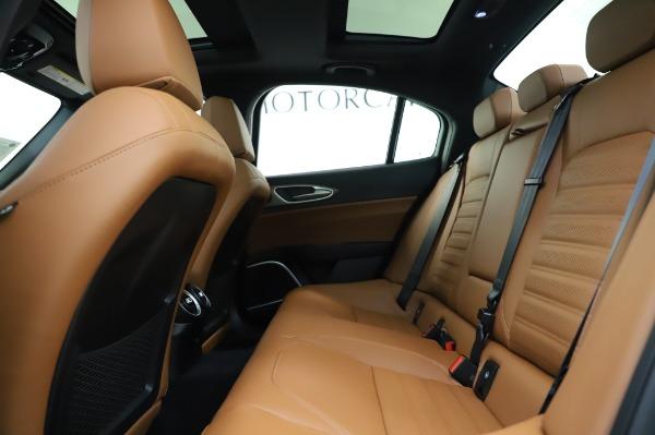 New 2020 Alfa Romeo Giulia Ti Sport Q4 for sale $51,495 at Alfa Romeo of Greenwich in Greenwich CT 06830 19