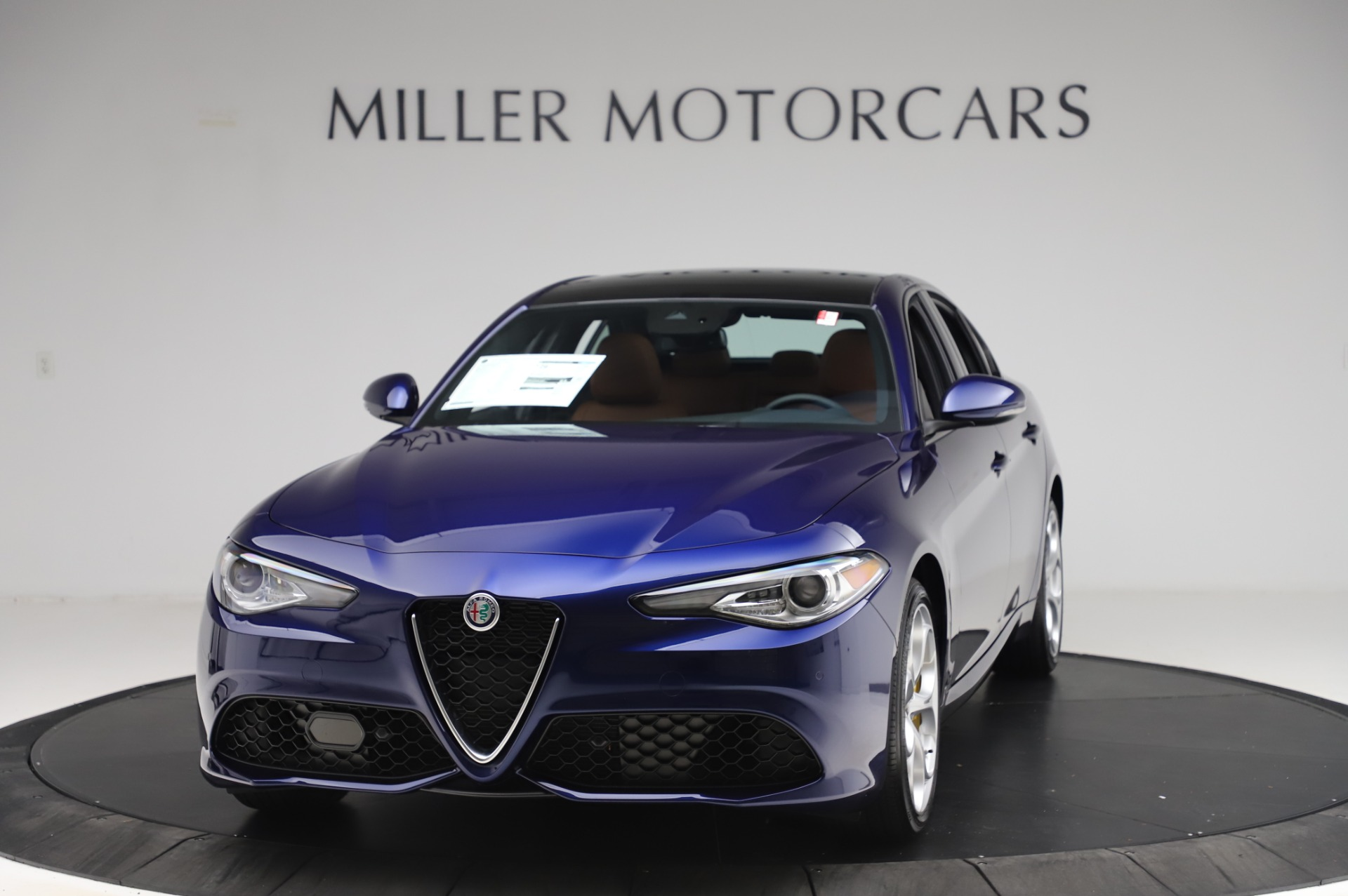 New 2020 Alfa Romeo Giulia Ti Sport Q4 for sale $51,495 at Alfa Romeo of Greenwich in Greenwich CT 06830 1