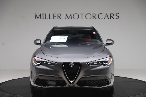 New 2020 Alfa Romeo Stelvio Sport Q4 for sale $50,945 at Alfa Romeo of Greenwich in Greenwich CT 06830 12
