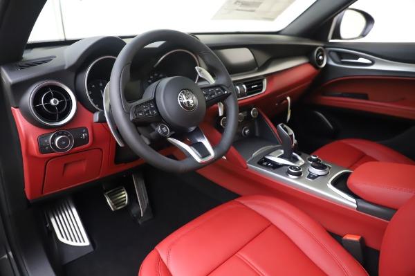 New 2020 Alfa Romeo Stelvio Sport Q4 for sale $50,945 at Alfa Romeo of Greenwich in Greenwich CT 06830 13