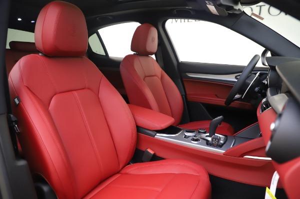 New 2020 Alfa Romeo Stelvio Sport Q4 for sale $50,945 at Alfa Romeo of Greenwich in Greenwich CT 06830 18