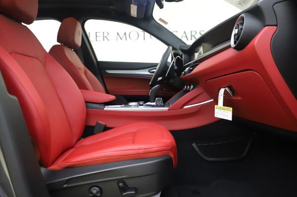 New 2020 Alfa Romeo Stelvio Sport Q4 for sale $50,945 at Alfa Romeo of Greenwich in Greenwich CT 06830 20