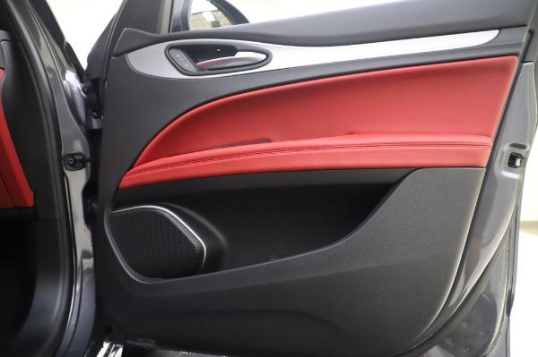 New 2020 Alfa Romeo Stelvio Sport Q4 for sale $50,945 at Alfa Romeo of Greenwich in Greenwich CT 06830 21